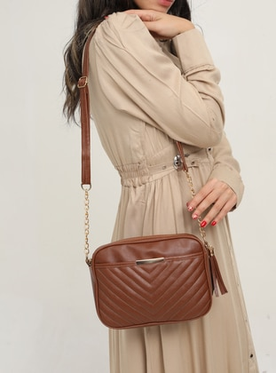 Tan - Crossbody - Shoulder Bags