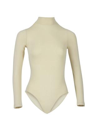 Nude - - Combed Cotton - Corset - Özkan İç Giyim