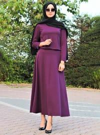 Plum - Unlined - Suit