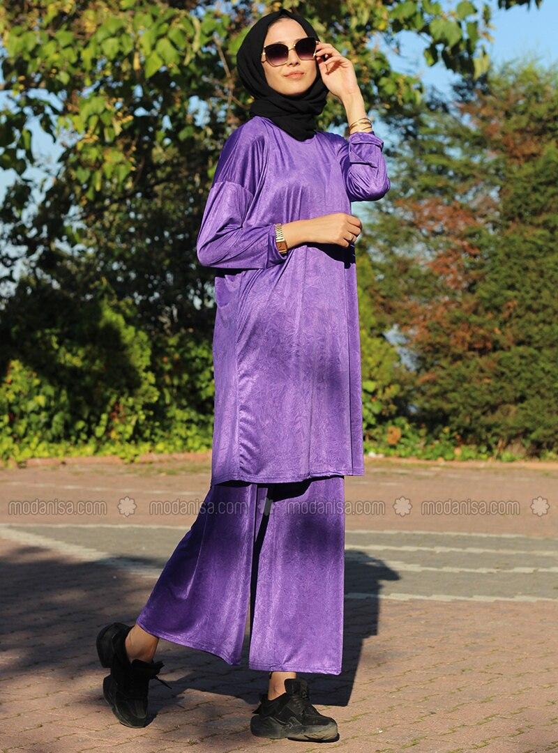 Lilac - Unlined - Suit