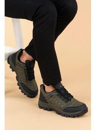Khaki - Boys` Boots - Ayakland