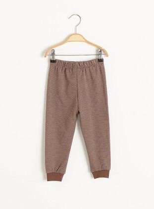 Brown - Baby Pyjamas - LC WAIKIKI