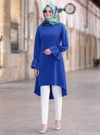 Saxe - Crew neck - Tunic