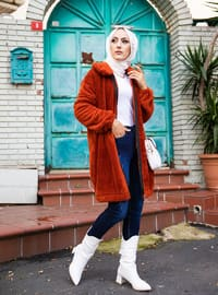 Terra Cotta - Unlined - Puffer Jackets