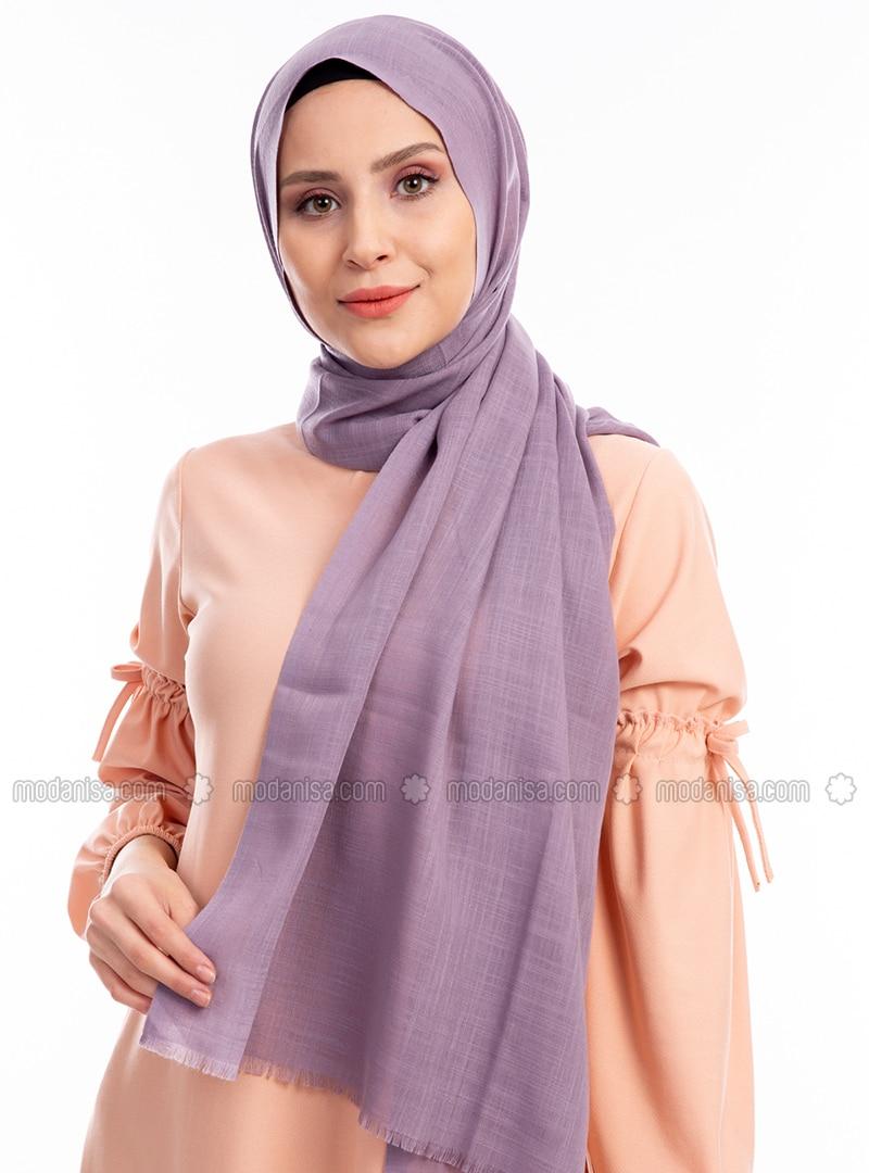 Lilac - Plain - Shawl