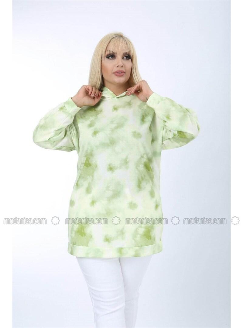 Green - Plus Size Sweatshirts