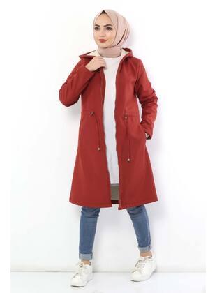 Terra Cotta - Puffer Jackets