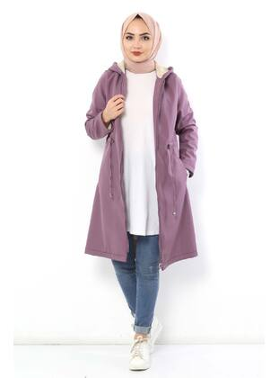 Lilac - Puffer Jackets