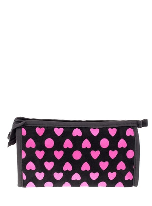 Pink - Black - Clutch - Clutch Bags / Handbags