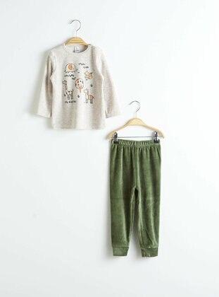 Ecru - Baby Pyjamas - LC WAIKIKI
