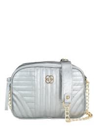 Silver tone - Satchel - Shoulder Bags