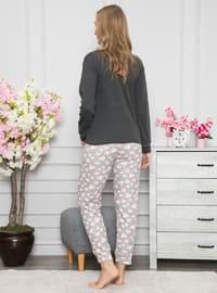Smoke - Crew neck - Cotton - Pyjama Set