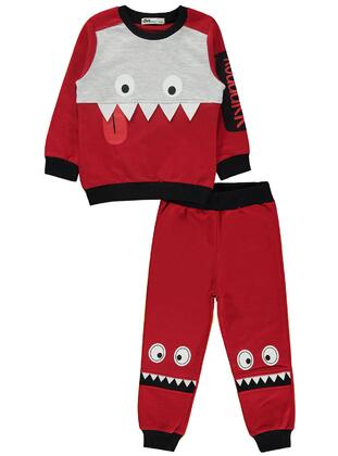 Red - Boys` Tracksuit