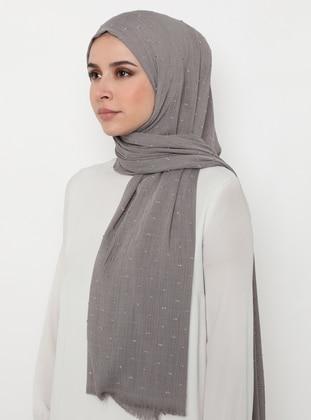 Silver tone - Plain - Shawl