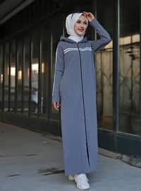 Gray - Unlined -  - Topcoat