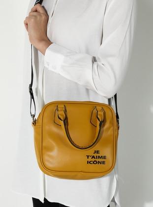 Mustard - Satchel - Shoulder Bags