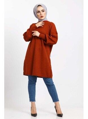 Terra Cotta - Knit Tunics