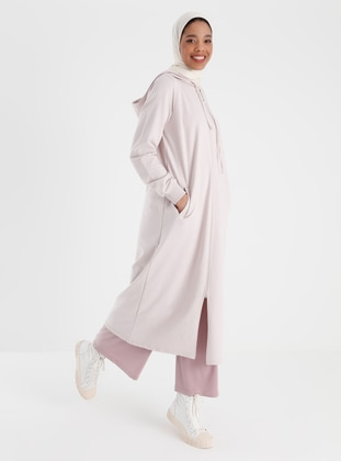 Zippered Sports Cape - Deep Pink - Basic