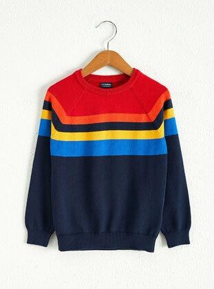 Red - Boys` Pullover - LC WAIKIKI