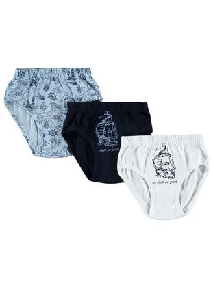 Navy Blue - Kids Underwear - Civil