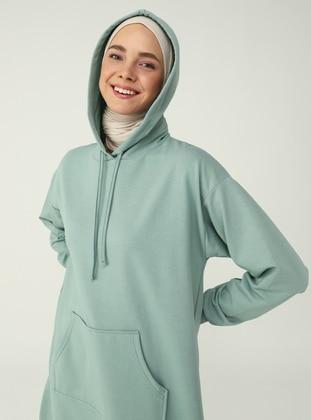 Green Almond - Modest Dress