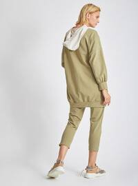 Khaki - Stone - - Suit