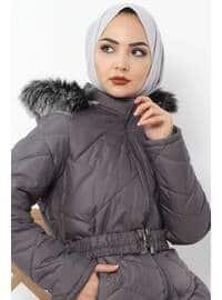 Gray - Puffer Jackets