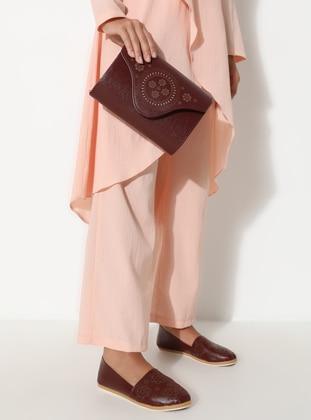 Maroon - Flat - Suit