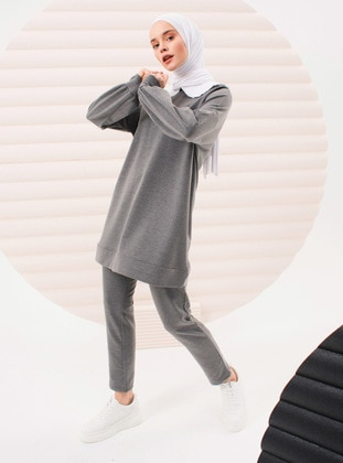 Smoke - Unlined - Cotton - Suit