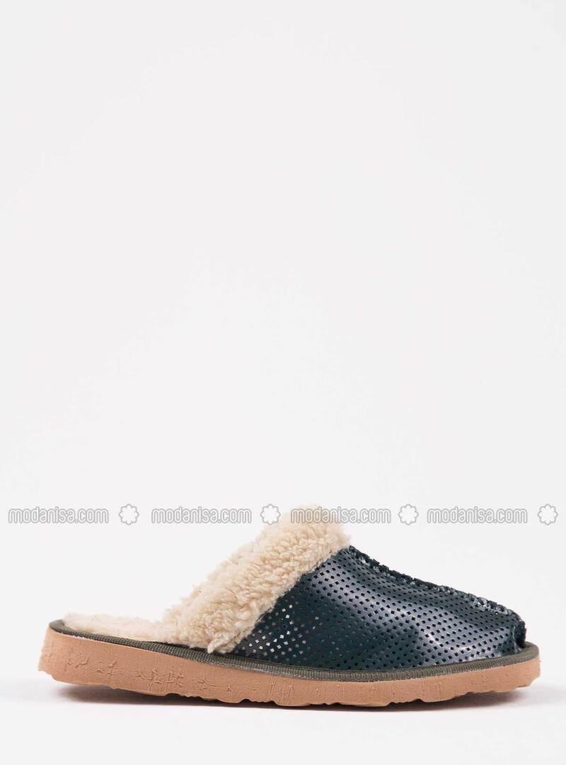 Green - Green - Sandal - Home Shoes