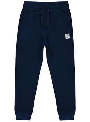 Navy Blue - Boys` Sweatpants - Civil