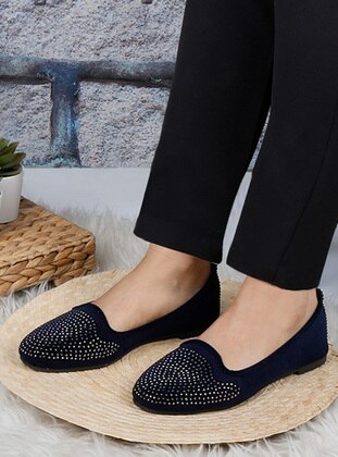 Casual - Navy Blue - Home Shoes