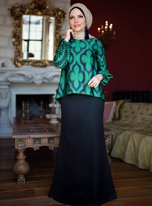 Fully Lined - Black - Evening Skirt