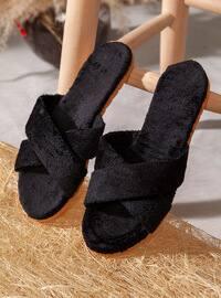 Sandal - Black - Home Shoes