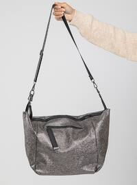 Silver - Satchel - Shoulder Bags