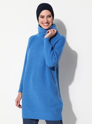 Polo neck - Unlined - Knit Tunics