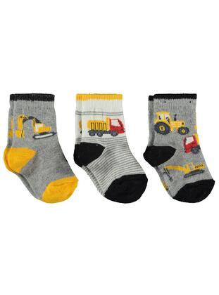 Black - Socks - Civil