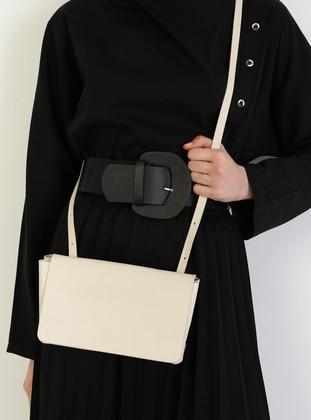 Ecru - Satchel - Shoulder Bags