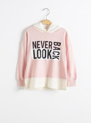 Pink - Girls` T-Shirt - LC WAIKIKI