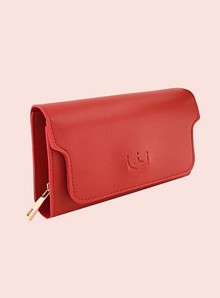 Red - Clutch - Wallet
