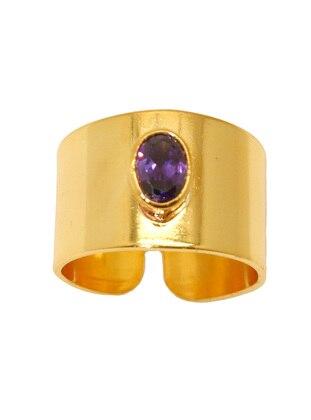 Gold - Purple - Ring