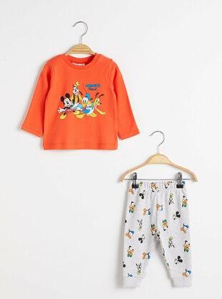 Orange - Baby Pyjamas - LC WAIKIKI