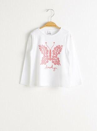 White - baby t-shirts - LC WAIKIKI