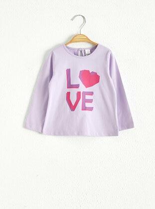 Lilac - baby t-shirts - LC WAIKIKI