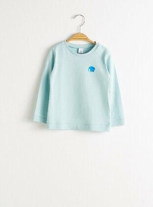 Blue - baby t-shirts - LC WAIKIKI