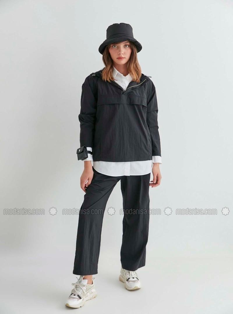Beige - Plus Size Coat