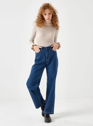 Blue - Blue - Blue - Pants