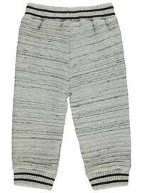 Gray - Baby Bottomwear