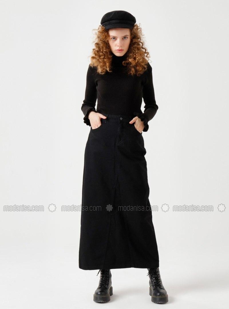 Black - Black - Unlined - Black - Unlined - Black - Unlined - Skirt