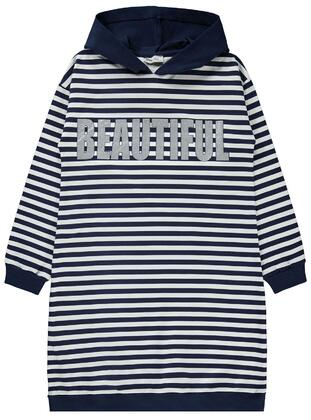 Navy Blue - Girls` Tunic - Civil